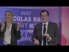 Nicolas Bay reçoit Marine Le Pen à Rouen