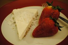 Vegan Coconut Cheesecake... if using unsweetened coconut, add maple syrup (start with 1 TBSP)
