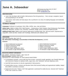 8 Best Java Developer Resume Templates Amp Samples Images