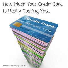 How Much Your Credit Card Is Really Costing You #creditcard #saving #money