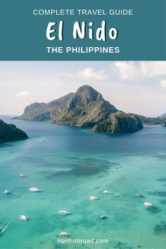 Plan to visit El Nido, Palawan in the Philippines? Check out our travel guide with what to do, when to go, where to eat and best hotels in the gateway to the wonderful Bacuit Archipelago   beautiful beaches and tips for boat tours to amazing islands. #elnido #philippines #asia #travel Beautiful Islands, Beautiful Beaches, Philippines Travel Guide, Siargao Island, Paradise Island, Palawan, Boat Tours, Archipelago, Asia Travel