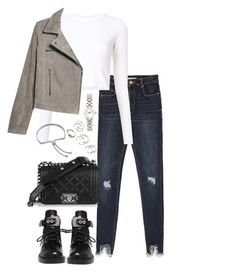 """Untitled #4615"" by theeuropeancloset on Polyvore featuring Proenza Schouler, Balenciaga, MANGO, Marc by Marc Jacobs, Monica Vinader and Forever 21"