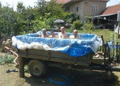 Here you are currently watching here the ideas of Architecture of DIY Homemade Pool Ideas. Every one can be like the Architecture of DIY Homemade Pool Ideas Diy Swimming Pool, Swimming Pool Photos, Diy Pool, Kiddie Pool, Piscina Diy, Weissenhäuser Strand, Homemade Pools, Benne, Diy Home