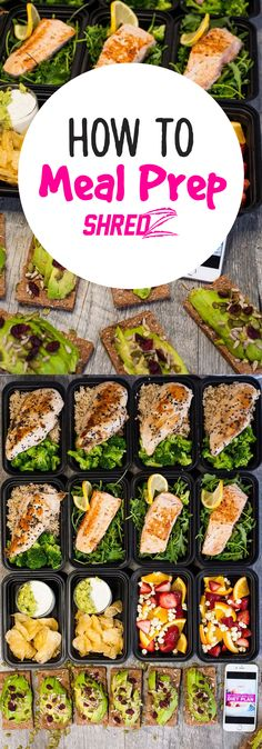 Don't fail to prepare! Meal Prepping and proper nutrition are essential for…