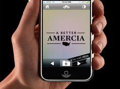 """롬니 캠프는 공화당 대통령후보로 확정된 후 """"밋과 함께(With Mitt)""""라는 제목의 앱을 새로 공개했습니다. 그런데 앱에 담긴 슬로건 중 """"보다 나은 미국(A Better Amercia)"""" 즉, America를 잘못 표기한 것이 있어 이에 대한 비판과 패러디가 쏟아지고 있는데요. 미처 오타를 확인하지 못한 것이 치명적인 위기상황을 만들었습니다. Peak15 블로그에서 자세한 내용을 살펴보세요. Peak15 - PR and Strategic Consulting Firm :: [오늘의 기사] 롬니를 Amercia의 대통령으로!"""