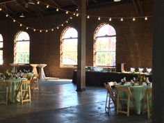 Reception at the Huntsville Depot Museum's Roundhouse   Call 256-564-8113 to learn more.
