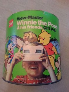 vintage view master set/winnie the pooh