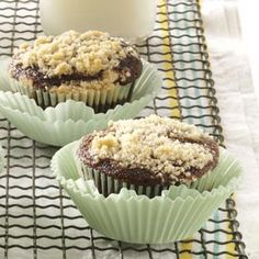 Shoofly Cupcakes Recipe -These moist old-fashioned molasses cupcakes were my grandmother's specialty. To keep them from disappearing too quickly, she used to store them out of sight. Somehow, we always figured out her hiding places! —Beth Adams, Jacksonville, Florida