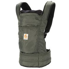 Ergobaby Travel Collection Baby Carrier - Stowaway - Olive (BC346001NL) | Ergobaby #KidsAroundtheWorld