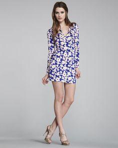 Reina Floral-Print Dress by Diane von Furstenberg at Bergdorf Goodman.