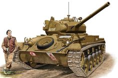 The 18 best Profiles - M24 Chaffee. images on Pinterest | M24 ...