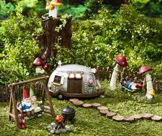 Discover everything you need to create your fairy garden with supplies, kits & accessories from Big Lots. Shop gnomes, miniature houses, fairy figurines & more. Fairy Garden Houses, Gnome Garden, Fairy Garden Pots, Fairies Garden, Garden Bed, Vegetable Garden Design, Garden Crafts, Garden Ideas, Backyard Ideas