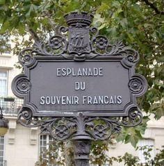 L'esplanade du Souvenir-Français  (Paris 7ème)