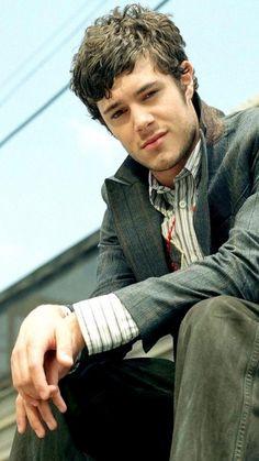 Adam Brody- just so cute. I miss the O.C.:(