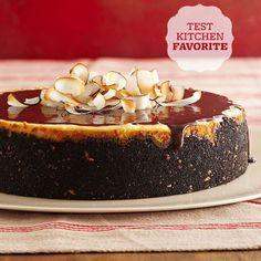Joyful Almond Cheesecake