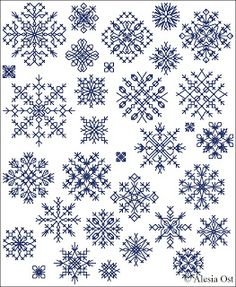 Free cross-stitch patterns, Inimitable Snowflakes, snowflake, winter, Christmas, cross-stitch, back stitch, cross-stitch scheme, free pattern, x-stitchmagic.blogspot.it, вышивка крестиком, бесплатная схема, punto croce, schemi punto croce gratis, DMC, blocks, symbols