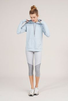 Blue and grey workout wear. Yoga and fitness/ active wear.  Follow the board for more inspiration!