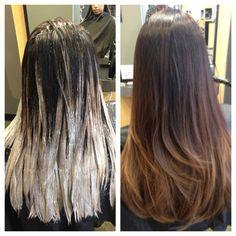 Balayage!!! Ombré! So pretty! Hairstylist: Danny Masip @ The Studio Salon in Anahiem Hills, CA