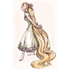 "claireonacloud: Costume design for Rapunzel //. - claireonacloud: ""Costume design for Rapunzel // Visual development for "" Tangled Concept Art, Disney Concept Art, Disney Fan Art, Disney Love, Disney Ideas, Disney Disney, Rapunzel Flynn, Rapunzel Costume, Princess Rapunzel"