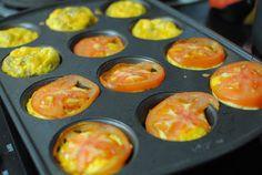 Easy Breakfast Recipe: Baked Eggs in Ham Cups