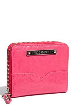 Rebecca Minkoff 'Neon Lizard Small' Zip Around Wallet | Nordstrom - StyleSays
