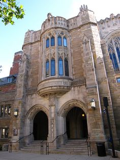 Yale University Law School in New Haven, Connecticut, USA (by polytikus).
