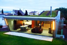 Villa Bio: House With a Cantilevered Living Roof is a Feat of Engineering