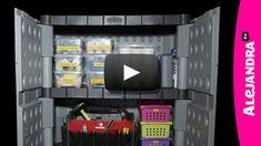 How to Organize Garage Tools & Hardware – Garage Organization DIY Garage Organization Tips, Clutter Organization, Garage Storage, Organization Ideas, Household Organization, Storage Spaces, Garage Shed, Garage Tools, Garage Ideas