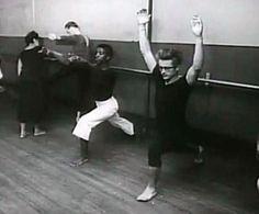 Ballet... An empowering form of yoga! JAMES DEAN & The 'FAB' 50s, James Dean at Ballet Class