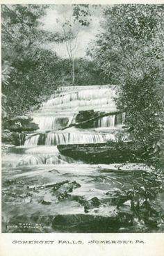 Johnstown,PA. Somerset Falls