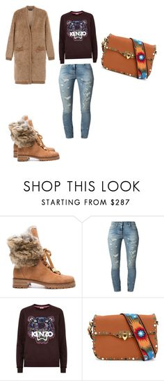 """""""Stay warm"""" by williamsnl ❤ liked on Polyvore featuring Alexandre Birman, Faith Connexion, Kenzo, Valentino and Rochas"""
