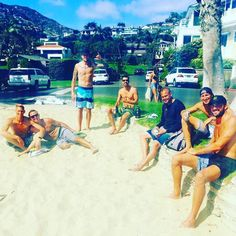 Epic day playing 4man with these knuckleheads yesterday in Emerald Bay @caseypatt @heyusob @bmac815 @tyroneloomis @bobbyjacobs
