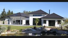 My House Plans, Chalet Style, Modern House Design, Contemporary Architecture, Interior And Exterior, New Homes, Mansions, The Originals, House Styles