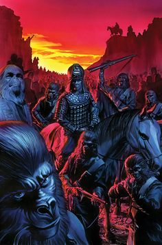 PLANET OF THE APES Comic-Con Art Series by Alex Ross — GeekTyrant