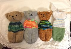 Ravelry: Animal Comfort Dolls by P.K. Olson