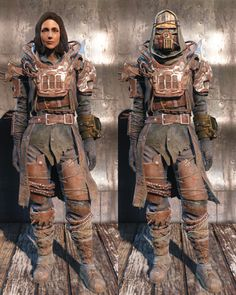 Fallout 4 armor and clothing Fallout Costume, Fallout Props, Fallout Cosplay, Fallout Art, Larp, Fallout 4 Armour, Fallout Raider, Post Apocalyptic Costume, Vault Tec