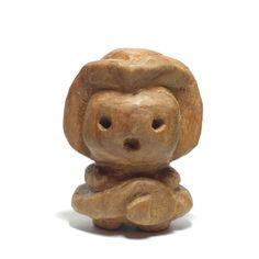 木彫り土偶7号