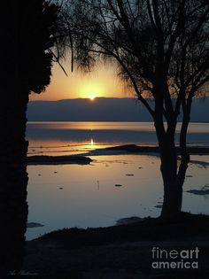 ✮ Sunrise at the Dead Sea