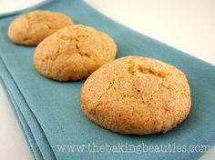 Gluten Free Pumpkin Snickerdoodles - The Baking Beauties