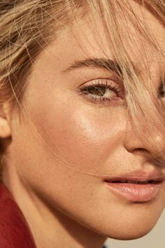 Shailene Woodley, photographed by Olivia Malone for Marie Claire...