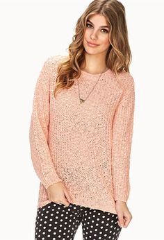 Everyday Open-Knit Sweater | FOREVER21 - 2031558070