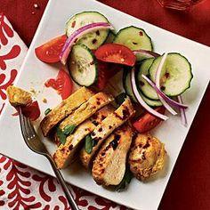 Tandoori-Spiced Chicken | MyRecipes.com
