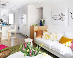 Comfyheaven Home Decor: Small Spaces - 40m² apartment inspiration