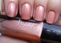 Lynn - Nude blush pearl.  Get your first box free!  ($45 value) http://www.julep.com/rewardsref/index/refer/id/313807/