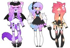 Customs: Will-O-Wisps, MusicallyChalanged, MerryLu by Zombutts on DeviantArt