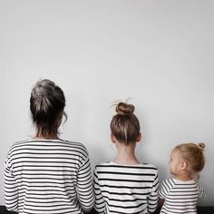 "Dominique Davis started a popular new photo series with her daughters called ""all that is three"" where they wear matching styles."