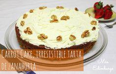 Receta de carrot cake, irresistible tarta de zanahoria