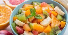 Recette de Salade d'agrumes coupe-faim Croq'Kilos à l'orientale. Facile et rapide à réaliser, goûteuse et diététique.