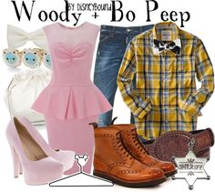 """Woody + Bo Peep"" by lalakay on Polyvore"