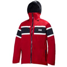SALT JACKET The classic Salt Jacket offers enhanced comfort on the water, and now features the signature Helly Hansen Marine Flag Stripe.Double click to zoom in